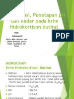 KRIM HIDROKORTISON BUTYRAT.ppt