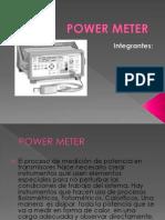 Exp_power Meter A . Estucio de los Medidores de potencia