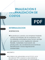 Externalizacion e Internalizacion de Costos