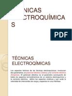 TÉCNICAS ELECTROQUÍMICAS