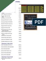 Supertech Pricelist 08-14