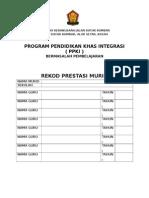 Rekod Profil Murid Ppki 2014