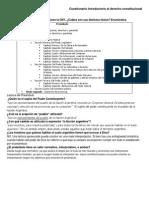 Cuestionario Introductorio Al Derecho Constitucional