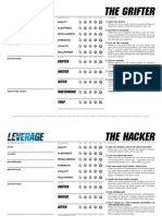 Leverage Character Sheet Official