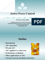 Active Force Control