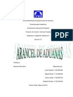 Arancel de Aduanas