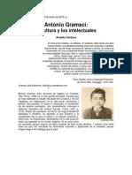 Arnaldo Córdova, Gramsci, Cultura e Intelectuales, 19 ene 2014.docx