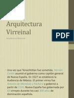 Arquitectura Virreinal