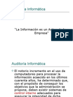 Auditoria a Clases 1 2