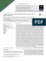 Farmacología de La Miopía y El Papel Potencial de Los Ritmos Circadianos Intrínsecos de La Retina