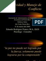 Asertividad y Manejo de Conflicto Eduard