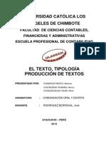 Uladech_texto y Tipologia