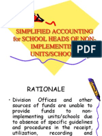 Simple Accounting Aug 2009