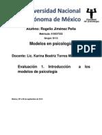 Evaluacion Modelos Psicologicos