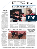 The Daily Tar Heel for Nov. 11, 2014