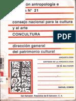 Colección Antropología N 21 CONCULTURA