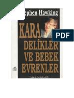 Hawking - Kara Delikler Ve Bebek Evrenler