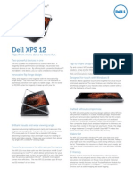 Dell XPS 12 ULT Spec Sheet G12003764