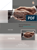 Invitation to Invest With Arion