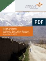 Afghan weekly update