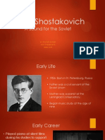 dmitri shostakovich- presentation