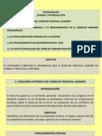 Unidad 1 Derecho Procesal Agrario