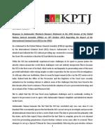 KPTJ Response to Amb. Kamau's UNGA Statement on ICC
