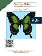 Pattern - Green_butterfly