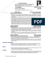 Example of CV