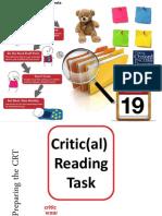 exam prep - preparing the crt