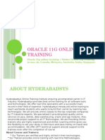 Oracle 11g online training | Online Oracle 11g Training in usa, uk, Canada, Malaysia, Australia, India, Singapore