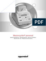 Eppendorf MasterCycler Manual