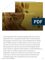 Why I Support Narendra Modi — News Report_ News, Current Events, Politics, Etc — Medium