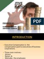 Compensation of CEOs