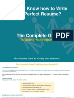 Do You Know How to Write the Perfect Resume