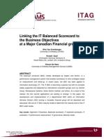 Balanced Scorecard Case Study