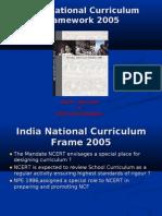 India National Curriculum Frame 2005