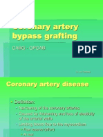 Coronary Artery Bypass Grafting-reduced