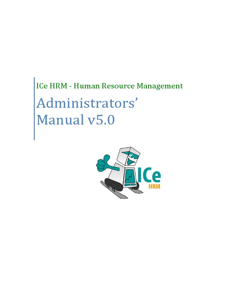 IceHrm Administrator Manual | Web Server | Installation (Computer
