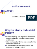 BE Industrial Policy
