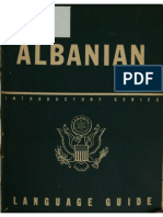 Albanian a Guide to the Spoken Language