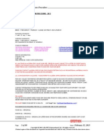 Ocean Freight Operations Procedure - 2013