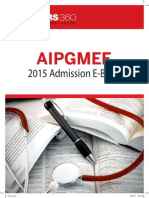 AIPGMEE 2015 Admission