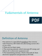 Fudamentals of Antenna