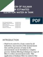 Revisi - Application of Kalman Filter for Estimated Elevation Water