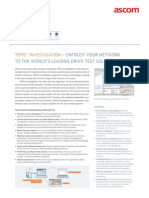 Tems Investigation 16 Datasheet