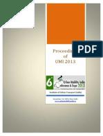 Proceeding UMI 2013