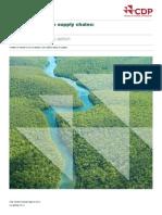 Deforestation-free supply chains