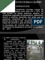CONCRETO CLIMAS CALIDOS