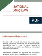 International Economic Law